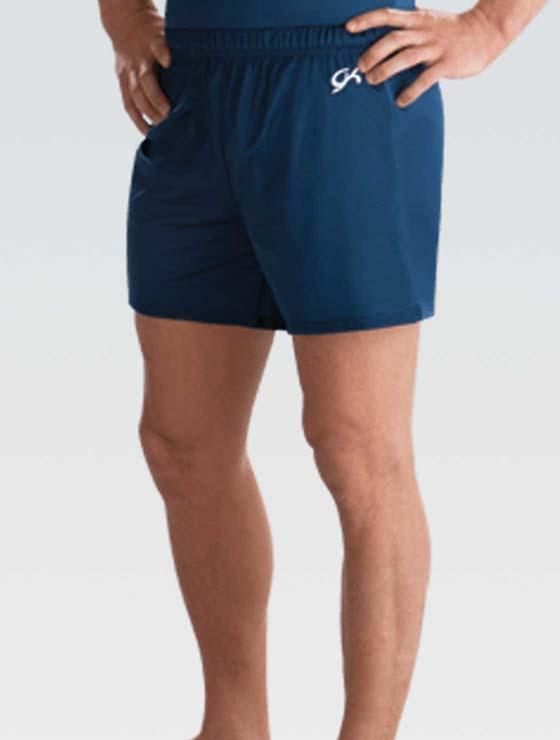 GK 1818M Nylon/Spandex Long Short - Navy
