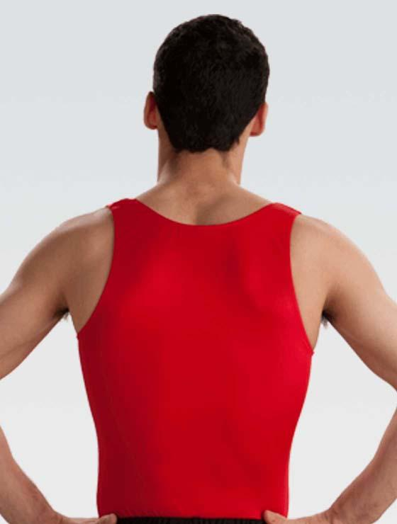 GK 1832M Basic Competition Leotard - Red