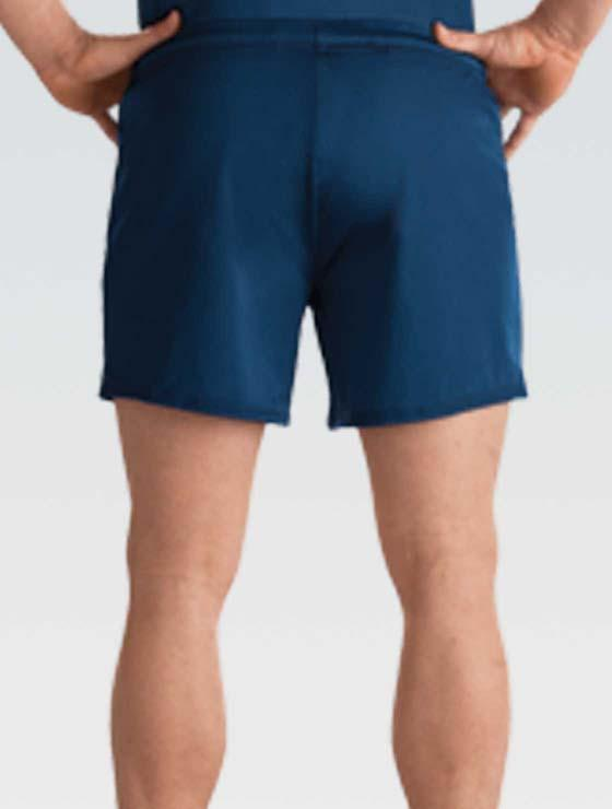 GK 1818M Nylon/Spandex Long Shorts - Navy