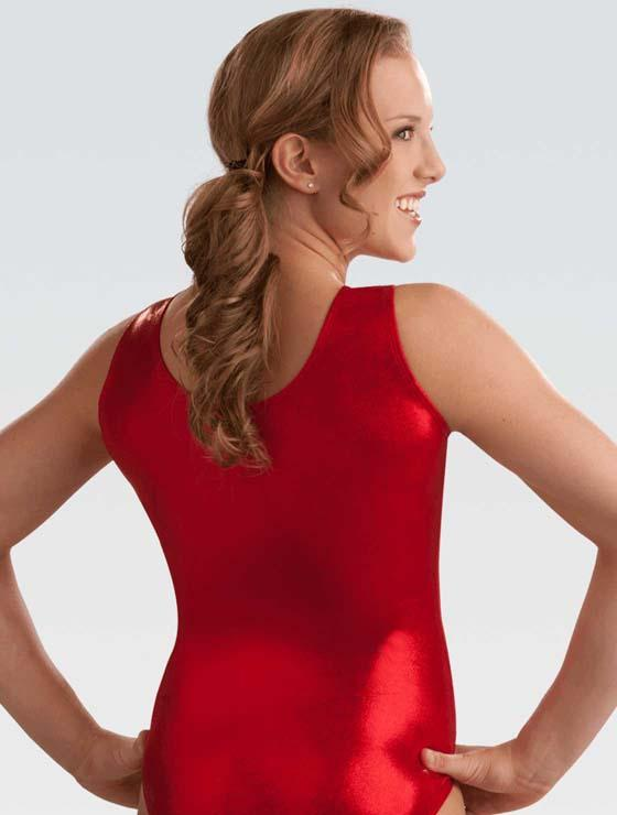 3456 GK SS Turnpak Leotard - B81 red